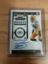 2019 Panini Contenders, TY SUMMERS, Rookie Ticket/Auto. Packers