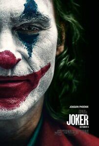 JOKER JOAQUIN PHOENIX MOVIE POSTER FILM A4 A3 A2 A1 PRINT CINEMA