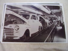 1946 FORD ASSEMBLY LINE   11 X 17  PHOTO  PICTURE