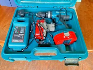 Makita 8390D Combi Drill in Box with Charger Needs New Battery Spares or Repair