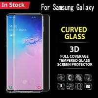 For Galaxy S10 5G S9 S8 Plus Note 10 9/8 Tempered Glass Screen Protector Samsung