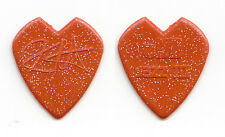 Metallica Kirk Hammett Signature Red Heart Glitter Guitar Pick - 2012 Tour