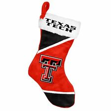"Texas Tech Red Raiders Holiday 17"" Christmas Stocking NCAA! Team Logo New 2014"