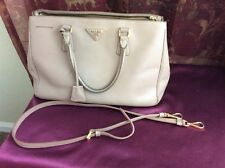 Authentic PRADA SAFFIANO Medium Lux Tote Blush/Cameo/Pale Pink {b26:MK}