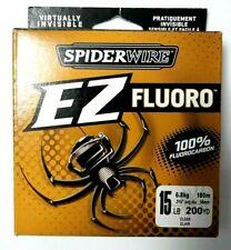 6.8 kg / 15 lb 200Yds. Clear Spiderwire Ez Fluoro Item K 2