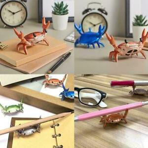 Bluetooth-compatible Speaker Cute Weightlifting Crab Stationery Glasses Bracket