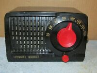 Vintage STEWART WARNER 9180 H AM Tube Radio J878