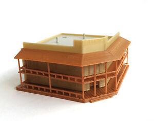 Outland Models Modelleisenbahn Miniatur alten west großen Saloon Gebäude Spur Z