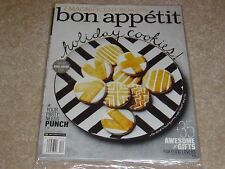 HOLIDAY COOKIES * 7 MAGNIFICENT ROASTS December 2013 BON APPETIT MAGAZINE NEW