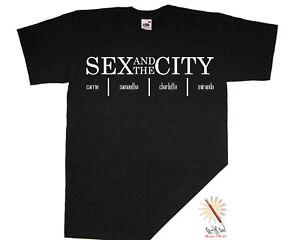 *SEX AND THE CITY* t-shirt Cult Movie/Film/SJP S-XXXL