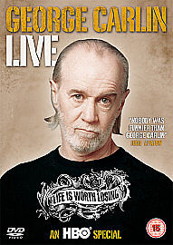 George Carlin - Life Is Worth Losing (DVD, 2010) HBO Special Region 2 UK