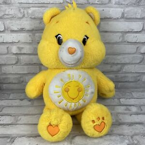 Care Bear Yellow Sunshine Funshine 20 Inch Plush Just Play 2014