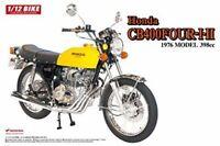 Aoshima 1/12 BIKE Honda CB400 FOUR-I/II (398cc) Plastic Model Kit from Japan