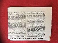 m2M ephemera 1966 football article welton rovers