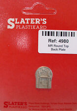 Slaters 4980 - 4mm MR Round Top Loco Backplate Cast Whitemetal - 1st Class Post