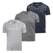 Mens T-Shirt Crosshatch Bellatrix T-Shirt, V Neck, Regular Fit, Cotton Tee Top