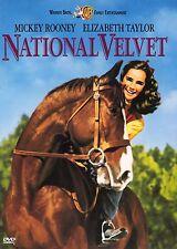 National Velvet DVD ,a classic horse race ,1944 Elizabeth Taylor Mickey Rooney.