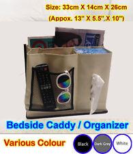 Bedside Caddy Storage Under Mattress Sofa Remote Holder Organizer iphone ^n.