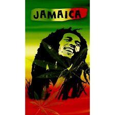 Serviette de plage Drap de bain Bob Marley Jamaïca beach towel Microfibres