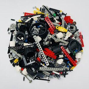 Lego Technic bionicle 500g bundle wheels rods gears bricks connectors hinges VGC