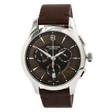 Victorinox Swiss Army 241749 Cuadrante Reloj con Cronógrafo Para Hombre Marrón de la Alianza
