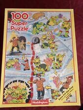 Teenage Mutant Hero Turtles Super Jigsaw puzzle 100 pieces