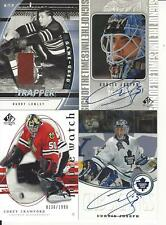 2005-06 UPPER DECK SP AUTHENTIC COREY CRAWFORD FUTURE WATCH ROOKIE /1999