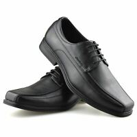 Mens Smart Casual Lace Up Formal Derby Comfort Walking Work Office Shoes Size