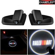 CHAMPLED RALLI ART LED Door WIRELESS Projector Logo Shadow lights emblem Car