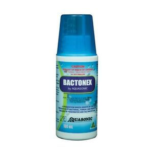 Bactonex 100ml - Bacterial, Fungal and Protozoal Treatment Marine/Fresh Aquarium