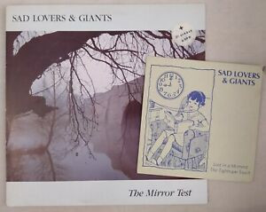 SAD LOVERS AND GIANTS - The Mirror Test LP + 7' ULTRA RARE !!! Darkwave New wave