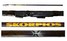 canna carbonio intrecciato skorpios 4m 10/40g pesca inglese mare lago trota