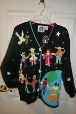 NWT Storybook Knits HOLD HANDS FOR PEACE #1645 ~ Size M