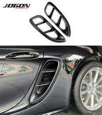 Carbon Fiber Side Vents Body Kits Side Air Vents For Porsche 718 Boxster Cayman