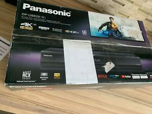 Panasonic DP-UB820 4K Ultra HD HDR Blu-ray Player Black
