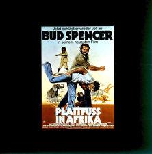 Plattfuss in Afrika ORIGINAL Kino-Dia / Film-Dia / Diacolor/ Steno / Bud Spencer