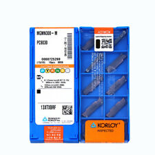 H●KORLOY PC9030 MGMN300-M Carbide Inserts CNC TOOL