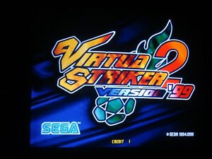 Sega Virtua Striker 2 '99 ROM KIT for ARCADE non JAMMA  Model 3 PCB