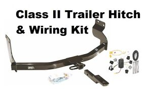"""Class II: 1-1/4"""" Hitch & Wiring,  Fits Multiple Vehicles"""