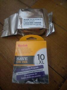 Genuine Kodak 10B XL & 10C Ink Orignal Black & Colour Twin Pack Free Post