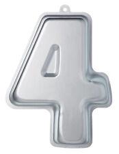 Kitchencraft Backform Nummer 4 Zahlenbackform Aluminium 32cm