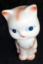 Jugement Cat -Vintage Squeaky pressé Toy -vieux Stock De La Boutique