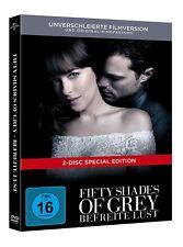 FIFTY SHADES OF GREY 3 BEFREITE LUST 2 DVD LIMITED DIGIBOOK EDITION DEUTSCH