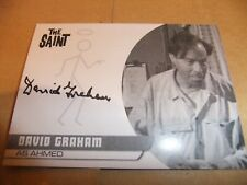 DAVID GRAHAM DG1 PROOF AUTOGRAPH CARD SAINT ROGER MOORE UNSTOPPABLE THUNDERBIRDS