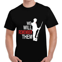 Remembrance Day Sunday Poppy Soldier War T-Shirt Tshirt Tee Mens Gents Unisex