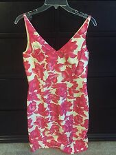 NWT Ann Taylor Silk Hot Pink Dress - Size 8 Petite $138.00