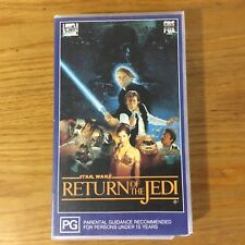 STAR WARS  ~ RETURN OF THE JEDI  ~ FOX VIDEO  ~ VHS PAL VIDEO ~ Collectable