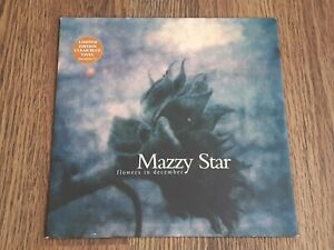 "MAZZY STAR - FLOWERS IN DECEMBER 7"" 1996 BLUE VINYL UK CAPITOL"
