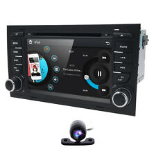 """For S4 A4 RS4 Audi Car Stereo DVD GPS Navigation Player Radio 7"""" Touchscreen+Cam"""