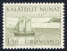 Greenland Ship, Boat Stamps